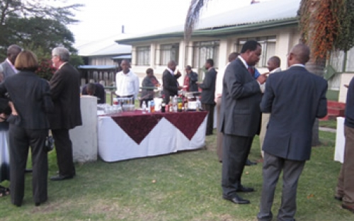 Curriculum Development workshop cocktail, Harare, November 2011
