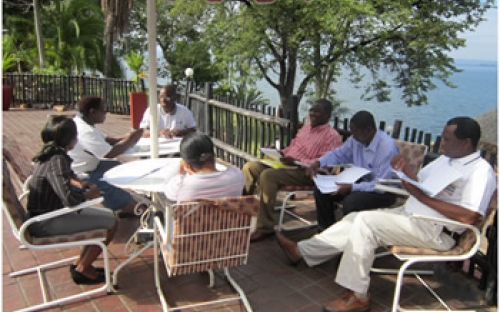 Informal discussions at the Parliamentary oversight workshop, Kariba, May 2011