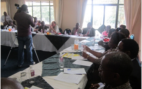 Participants at the ZPSP Curriculum Development workshop, Harare, November 2011