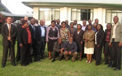 Participants at the Curriculum Development workshop, Harare, November 2011