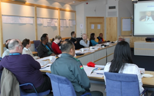 Participants at the Folke Bernadotte Academy attending the executive course on SSR in Sweden in February 2013