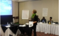 DCAF Expert Presenter Kristin Valasek, addresses the ZPSP Gender and SST Workshop, Harare 30 April 2013