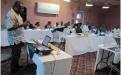 ZPSP Director Nyasha Masiwa addresses the Parliamentary oversight workshop,Kariba, May 2011