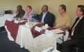 SADSEM and ZPSP panel at the Curriculum Development workshop, Harare, November 2011